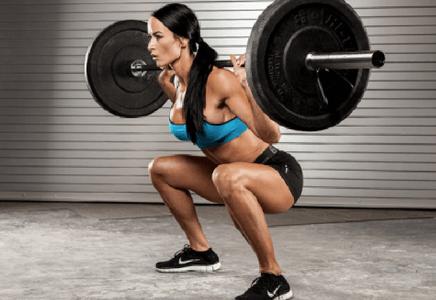 Squat pour grossir des fesses