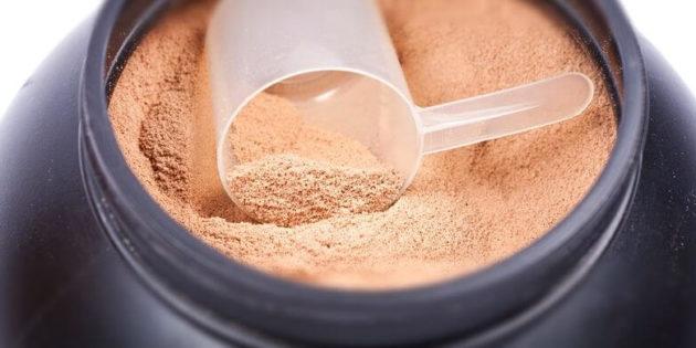 La musculation sans whey protéine ?