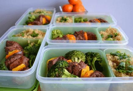 Idée de repas après l'entraînement