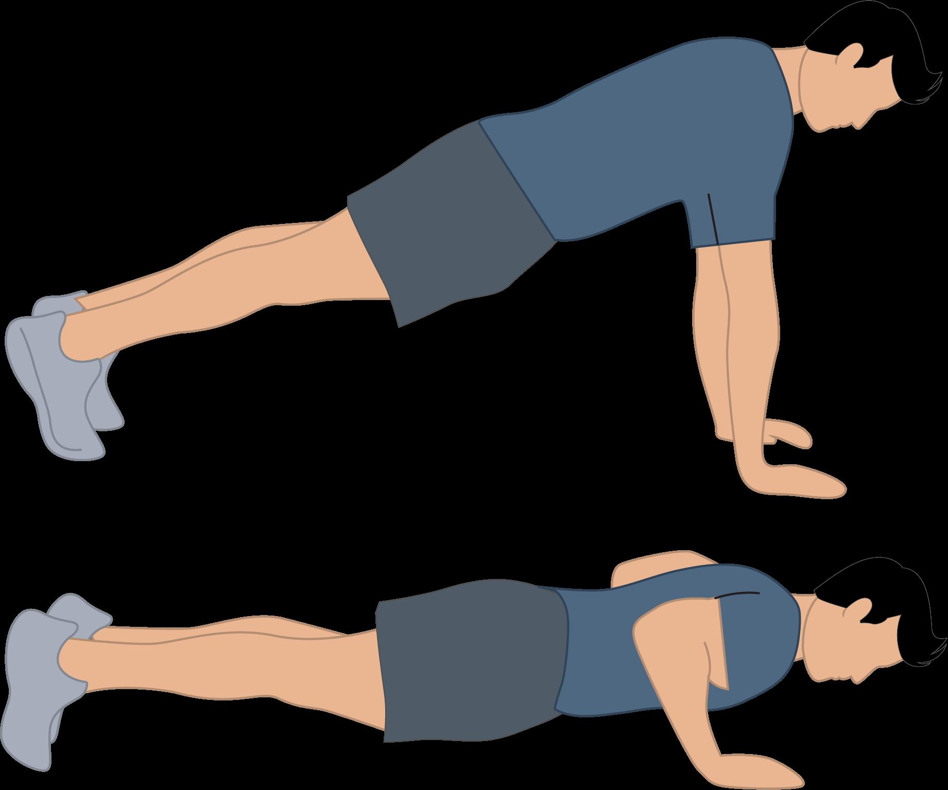 Exercice des pompes classiques