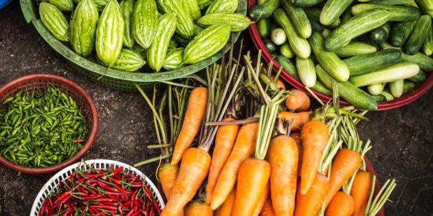 Les avantages des légumes dans la musculation