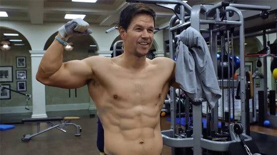 L'incroyable entraînement de musculation de Mark Wahlberg !