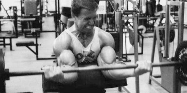 Machine de musculation de Larry Scott