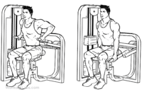 machine extension triceps