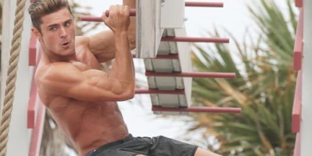 Zac Efron Musculation