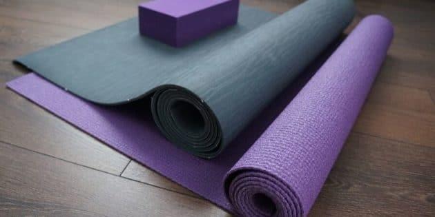 tapis de course yoga pilate