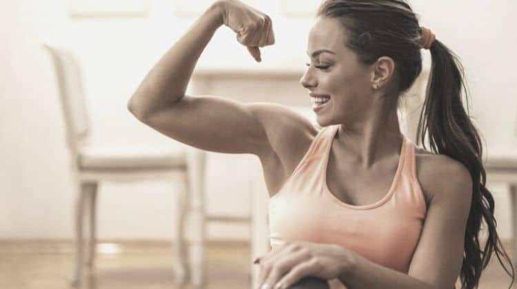 Musculation bras femme
