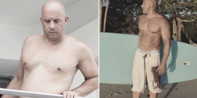 entrainement Vin Diesel