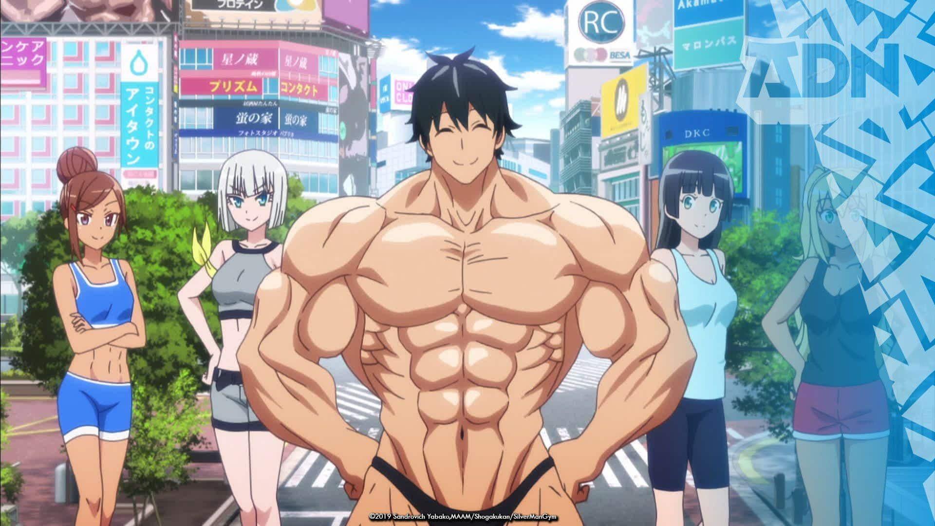 manga musculation