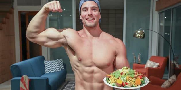 prise de muscle vegan végétarien