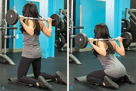 Les squats à genoux