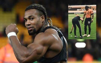 Adama Traoré musculation