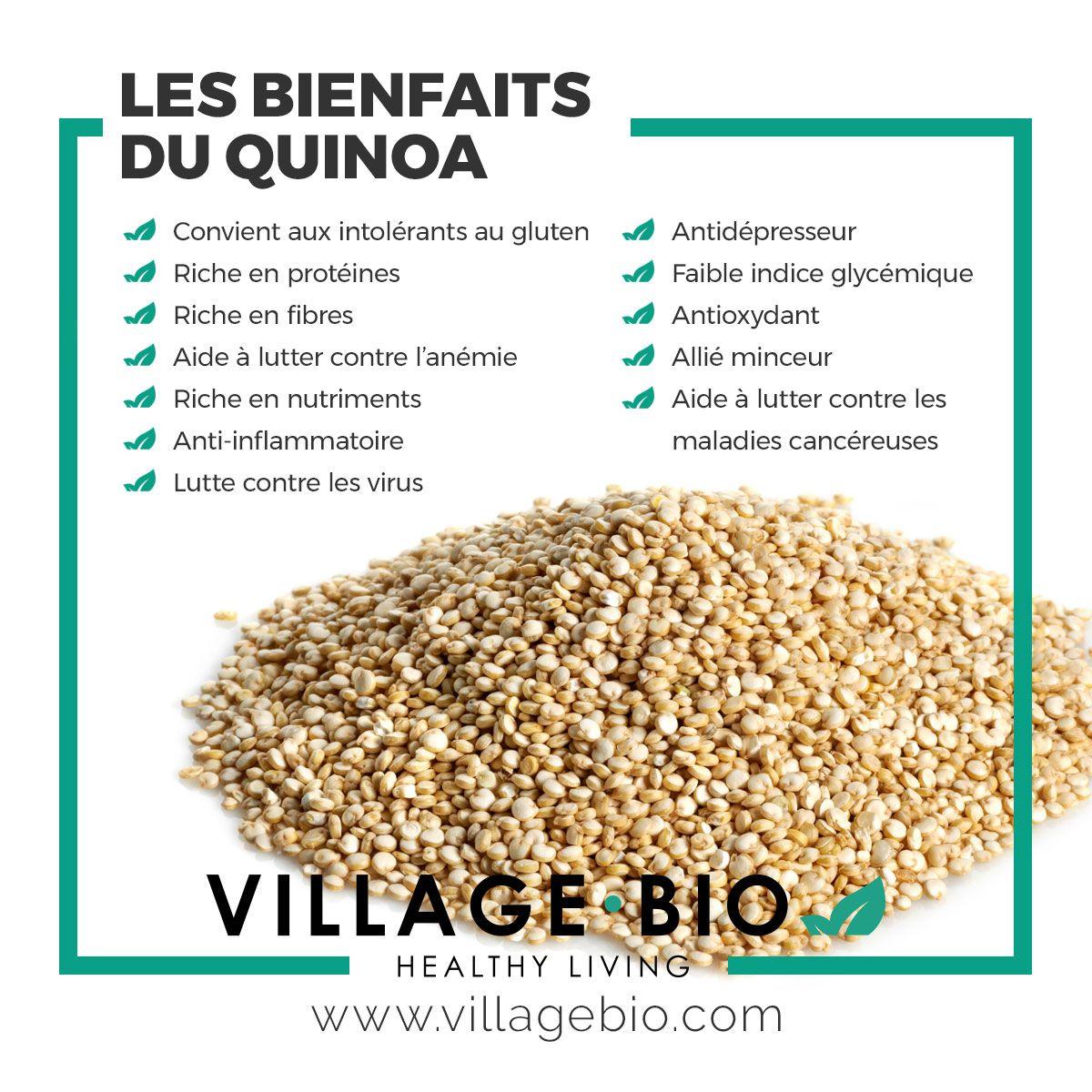 bienfaits quinoa