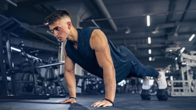 Quels sont les muscles sollicités par les pompes ?