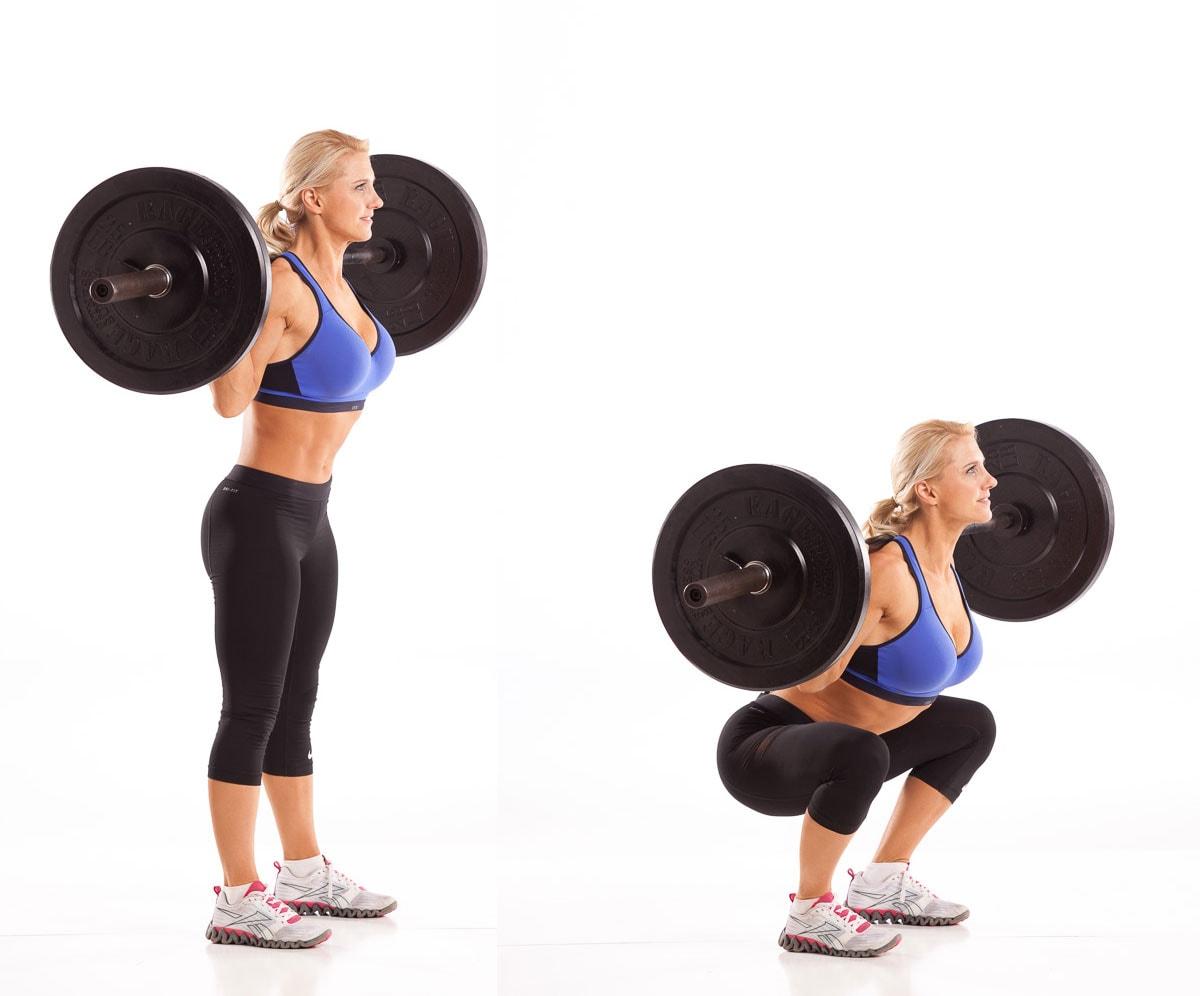 Back squats