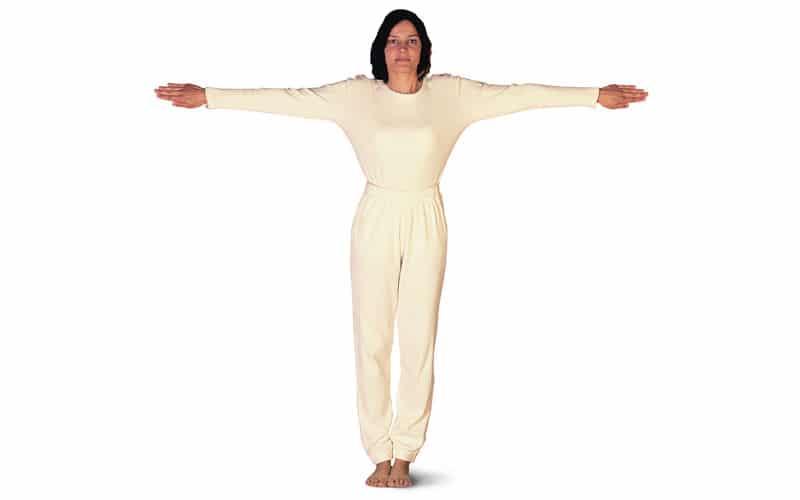 Extension de bras horizontale